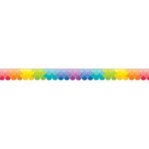 "Creative Teaching Press Ombre Border, 2-3/4""x35"", Rainbow (CTC01861)"