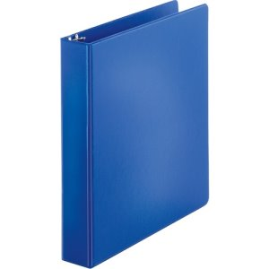 "Business Source Binder, Round Rings, 1-1/2"" Cap, 4 Binders (BSN28551BD)"