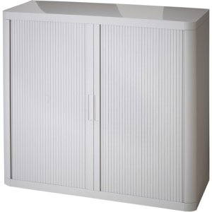 "Paperflow Storage Cabinet, 43-1/3""x16-1/3""x41"", Gray, 1 Each (PPR366014192352)"