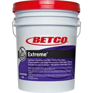 Betco Floor Stripper, Concentrated, Lemon Scent, 5 Gal, Green (BET1840500)