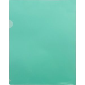 Business Source File Holders, Poly, Transparent, 50 Holders (BSN01797BX)