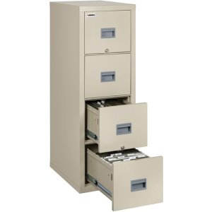 "Lorell File Cabinet, 4-Drawer, 20-9/10""Wx31-3/5""Dx52-3/4""H, PHT (LLRL4P2131CPA)"