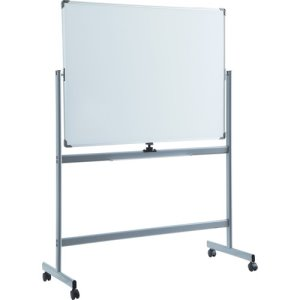 "Lorell Whiteboard Easel, Double-Sided, Magnetic, 72""Wx6""Lx39""H, We (LLR52568)"