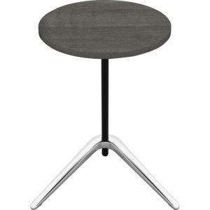 "Lorell Table, Accent, 15-3/4""Wx15-3/4""Lx24-3/5""H, Charcoal (LLR86924)"