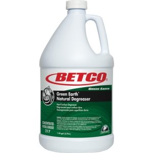 Green Earth Degreaser, Bio-Based, Concentrated, 4 Bottles (BET2170400CT)