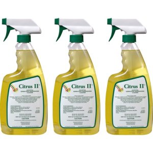 Citrus II Germicidal Cleaner, Citrus, 22 Oz, 12 Spray Bottles (BMT633772153CT)