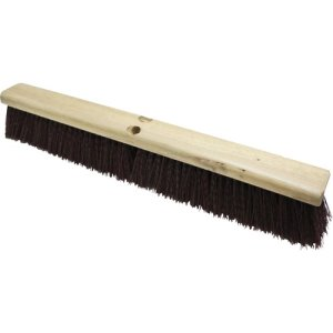 "Genuine Joe 24"" Broomhead, Polypropylene, Maroon, 12 Broomheads (GJO99653CT)"