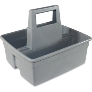 Impact Plastic Maids' Basket, 11 x 12-1/4 x 5, Gray, 6 Baskets (IMP1803CT)