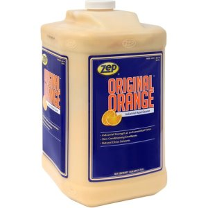 Zep Commercial Hand Cleaner, Skin Conditioning, 1 Gallon, 4/Ct, Orange (ZPE99124CT)