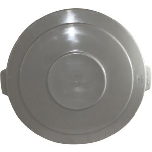 Genuine Joe Container Lid, 55 Gallon, Gray, 2 Lids (GJO00247CT)