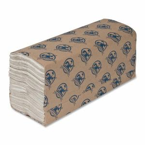 Genuine Joe 21120 White C-Fold Paper Towels, 2,400 Towels (GJO21120)