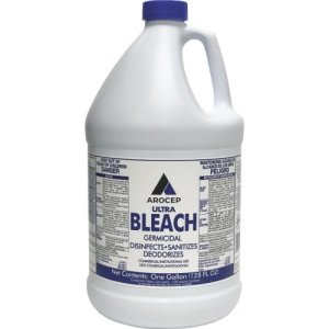 Arocep Germicidal Ultra Bleach, 6% Liquid, Gallon, 6 Bottles (PCKAR110001)