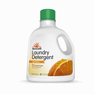 Sun and Earth Ultra Deep Cleaning Laundry Detergent, Citrus Scent, 50 oz. Bottle (SUNEARTH-10041-7-EA-CF)