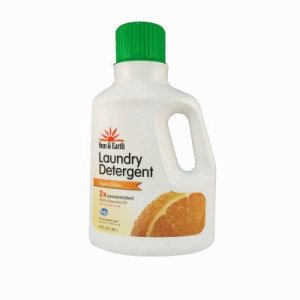 Sun and Earth 2x Laundry Detergent Citrus Scent, 50 oz. Bottle (SUNEARTH-10012-7-EA)