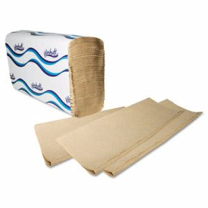Windsoft Brown Multi-Fold Paper Towels, 4,000 Towels (WIN 1040)