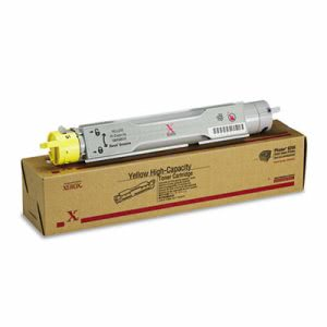 Xerox 106R00674 High-Yield Toner, 8000 Page-Yield, Yellow (XER106R00674)