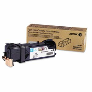 Xerox 106R01452 Toner Cartridge, 3100 Page-Yield, Cyan (XER106R01452)