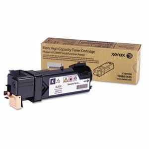 Xerox 106R01455 Toner Cartridge, 3100 Page-Yield, Black (XER106R01455)