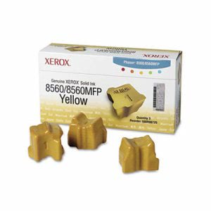 Xerox 108R00725 Solid Ink Stick, 3400 Page-Yield, 3/Box, Yellow (XER108R00725)
