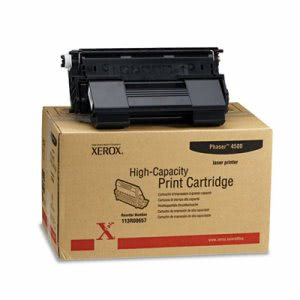 Xerox 113R00657 High-Yield Toner, 18000 Page-Yield, Black (XER113R00657)