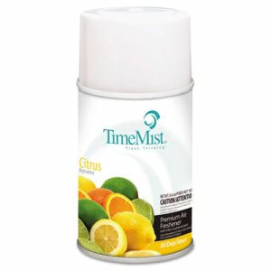TimeMist Metered Fragrance Dispenser Refill, Citrus, 6.6-oz. Can (TMS1042781EA)