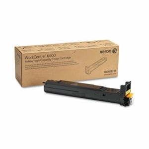 Xerox 106R01319 High-Yield Toner, 14000 Page-Yield, Yellow (XER106R01319)