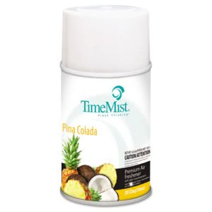 Timemist Fragrance Dispenser Refills, Pina Colada, 6.6-oz, 12 Cans (TMS1042690)