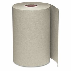 Windsoft 350' Non-Perforated Hardwound Paper Towels, Brown, 12 Rolls (WIN 108)