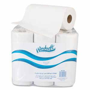 Windsoft Kitchen 2-Ply Paper Towel Rolls, 6 Rolls (WIN 2420)