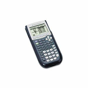 Texas Instruments Programmable Graphing Calculator, 10-Digit LCD (TEXTI84PLUS)