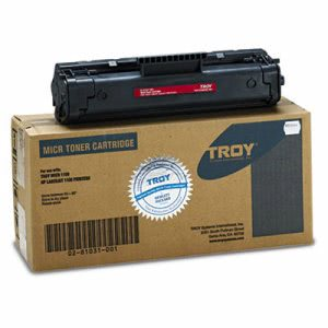 Troy 92A Compatible MICR Toner, 2,500 Page-Yield, Black (TRS0281031001)
