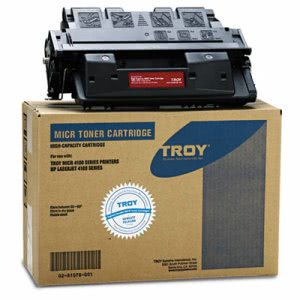 Troy 61X Compatible MICR Toner Secure, High-Yield, Black (TRS0281078001)