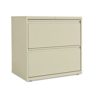 Alera 2-Drawer Lateral File Cabinet, 30w x 29h, Putty (ALELF3029PY)