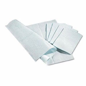 Medline Professional Tissue Towels, 3-Ply, 500 Towels (MIINON24357W)