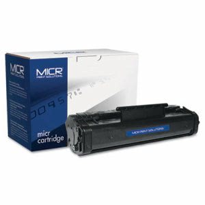 Micr Print Solutions Compatible MICR Toner, 2500 Page-Yield, Black (MCR92AM)
