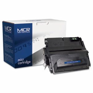 Micr Print 38AM Compatible MICR Toner, 12000 Page-Yield, Black (MCR38AM)