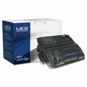 Micr Print Solutions 42AM Compatible MICR Toner, 10000 Page-Yield, Blk (MCR42AM)