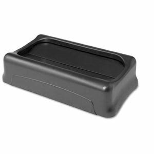 Rubbermaid 267360 Swing Lid for Slim Jim Waste Containers, Black (RCP267360BK)