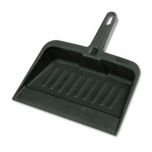 Rubbermaid 2005 Heavy Duty Plastic Dust Pan, Charcoal (RCP2005CHA)