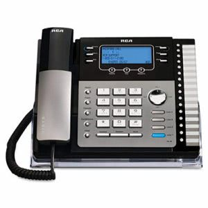 Rca ViSYS 25424RE1 Four-Line Phone with Caller ID (RCA25424RE1)