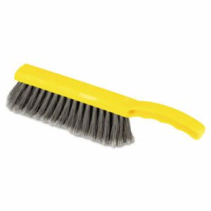 "Rubbermaid 6342 Plastic Block 12 1/2"" Countertop Brush, Silver (RCP6342)"