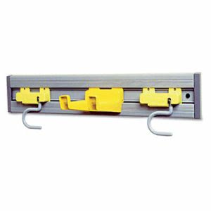 "Rubbermaid Commercial Closet Organizer/Tool Holder, 18"" Width (RCP199200GY)"