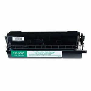 Panasonic UG5580 Toner Cartridge, 9000 Page-Yield, Black (PANUG5580)
