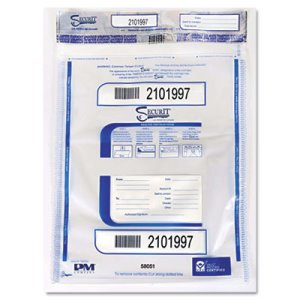 PM Triple Protection Tamper-Evident Bags, 20 x 24, Clear, 50 per Pack (PMC58051)