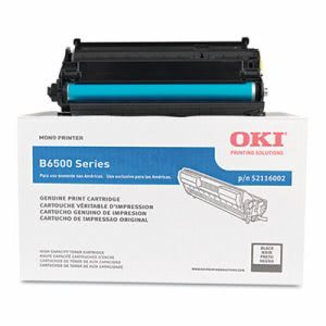 Oki 52116002 High-Yield Toner, 18000 Page-Yield, Black (OKI52116002)