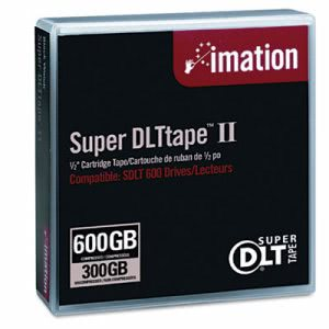 "Imation 1/2"" Super DLT II Cartridge, 300GB Native/600GB Comp Capacity (IMN16988)"