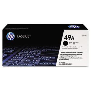 Hp Q5949A (HP 49A) Toner Cartridge, 2500 Page-Yield, Black (HEWQ5949A)