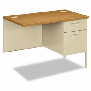 Hon Metro Classic Series Workstation Return, Right, 42w x 24d, Harvest/Putty (HONP3235RCL)