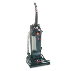 "Hoover C1660900 Hush Bagless 15"" Upright Vacuum Cleaner, Black (HVRC1660900)"