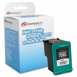Dataproducts DPC75XL Remanufactured High-Yield Ink, Tri-Color (DPSDPC75XL)